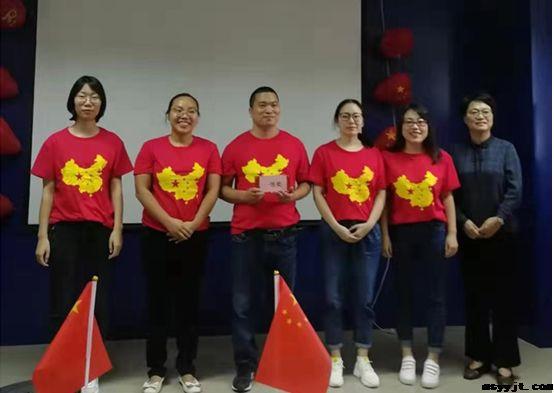 """民生药业集团生产中心举行 """"迎国庆""""诗歌朗诵比赛"""